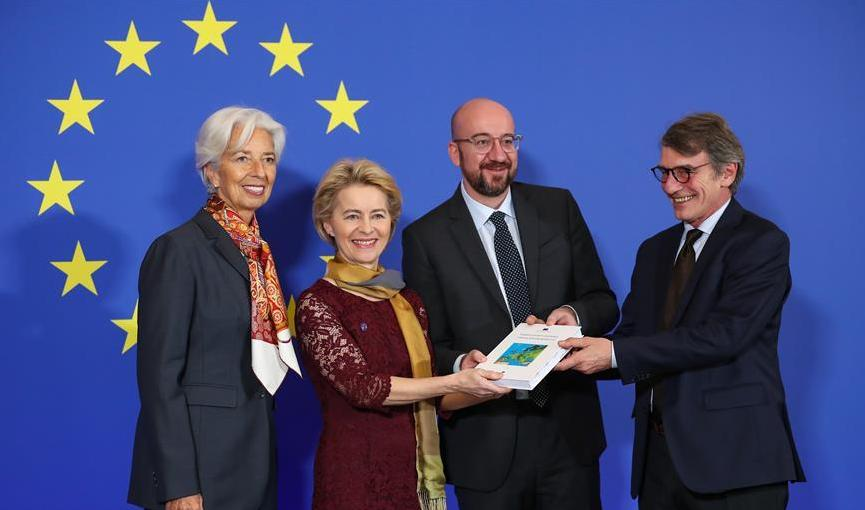 (国际)(2)欧盟新一届领导人纪念《里斯本条约》生效十周年