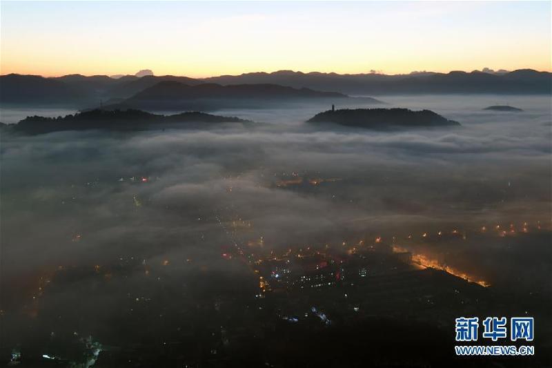 (环境)(5)云南宁洱:壮美的冬季云海