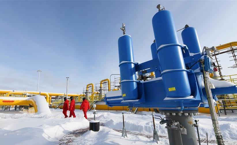 (图文互动)(3)俄罗斯天然气通过中俄东线天然气管道正式进入中国
