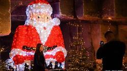 """(国际)(2)荷兰:奇妙的""""洞穴圣诞市场"""""""