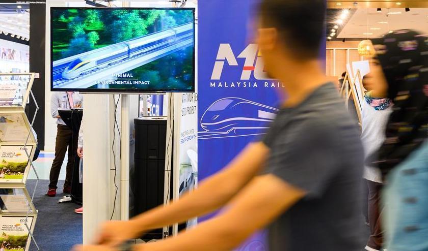 (国际·图文互动)(2)通讯:马来西亚人拥抱中马铁路建设合作新机遇