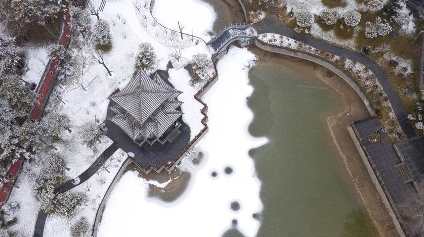 (环境)(5)山西太原迎来降雪