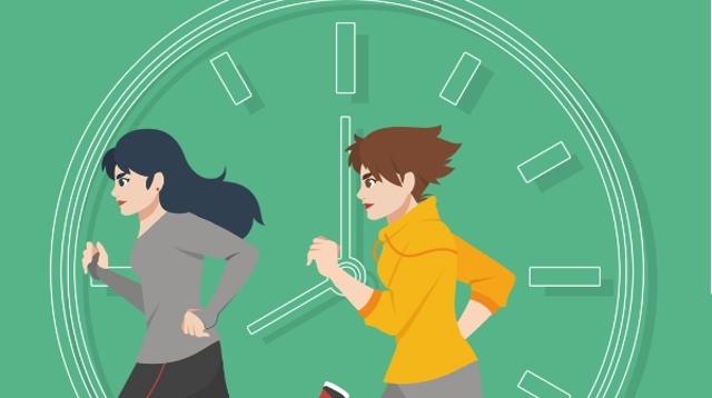 公益广告:规律起居 健康生活