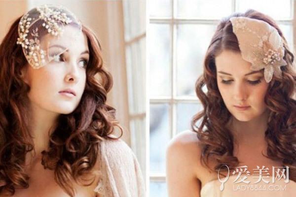 浪漫唯美人气发箍 满足新娘公主梦