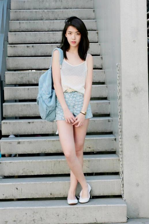 女生打扮冬天16岁