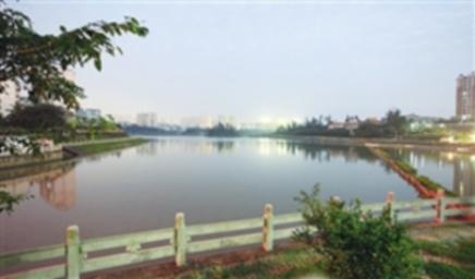 海口凤翔公园开工 花园城市添景