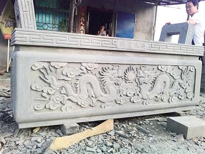 凯发娱乐海口龙塘石雕工艺千年不辍 五十八年前,十一工