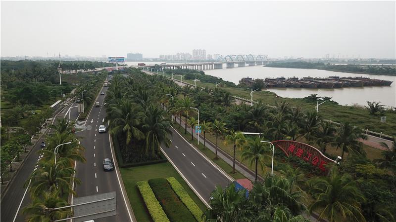 """海口城市更新""""五化"""":风雨贺喜不言语 满城碧叶四时春"""