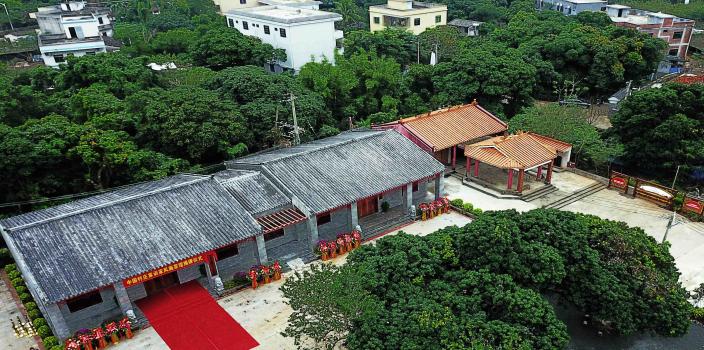 海口文明生态村:村民的幸福新家园