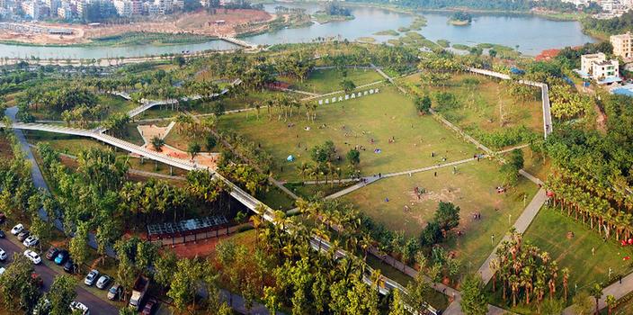 修复城市生态 呵护绿水青山 ——海口市强化生态文明建设不断增进百姓福祉