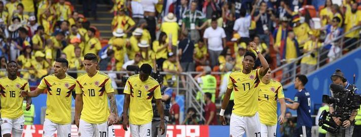 (世界杯)(8)足球——H组:日本队胜哥伦比亚队