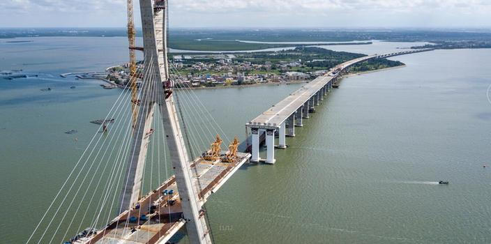 铺前大桥预计年底通车 海口至文昌20分钟