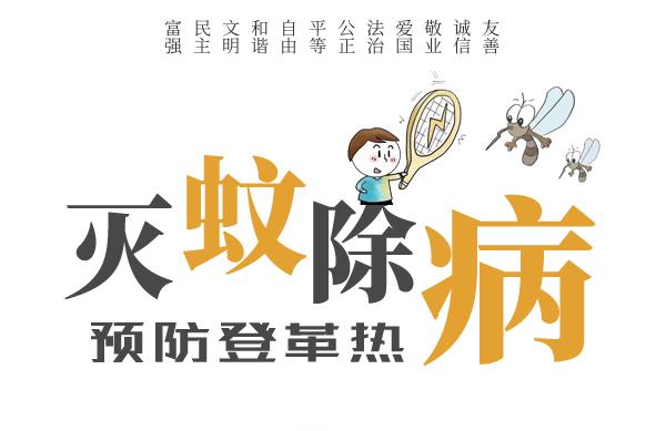 公益:灭蚊除病 预防登革热