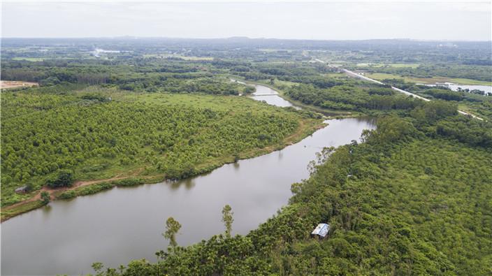 海口南渡江引水:生态优先绿水长流