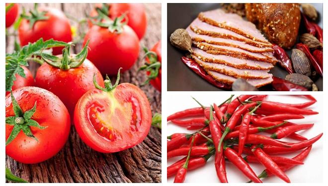 牛肉、番茄、辣椒……破译红色食物的营养密码