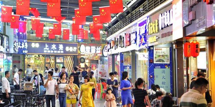 市民方便游客满意 澳门葡京官方娱乐平台夜市人气旺点亮城市夜生活