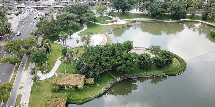 海口善借治理好经验 水清岸绿东西湖