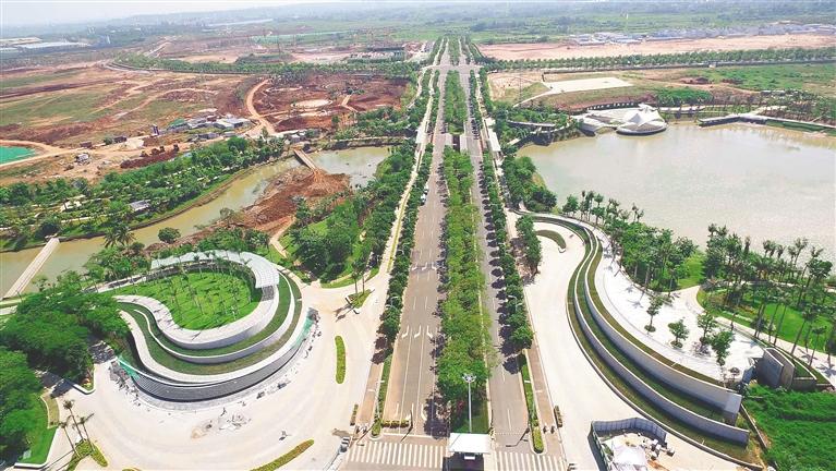 海南生态智慧新城加快建设