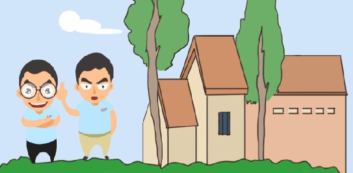 【扶贫漫画】贫困户喜迁新居 不再担心房屋倒塌啦!
