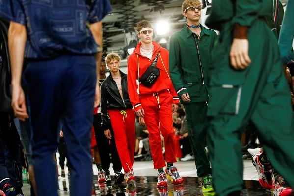 (外代二線)(29)倫敦男裝周——意大利品牌Iceberg時裝秀