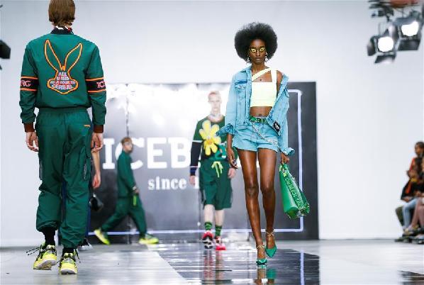 (外代二线)(34)伦敦男装周——意大利品牌Iceberg时装秀