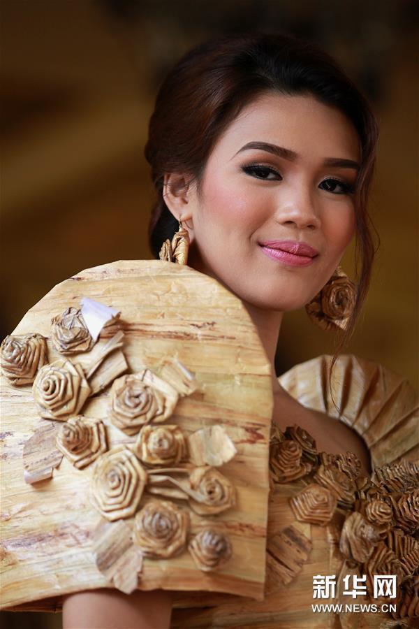 (新华视界)(5)菲律宾:睡莲礼服
