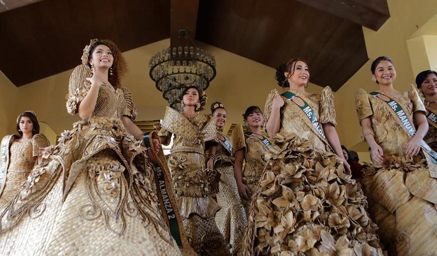 (新華視界)(1)菲律賓:睡蓮禮服