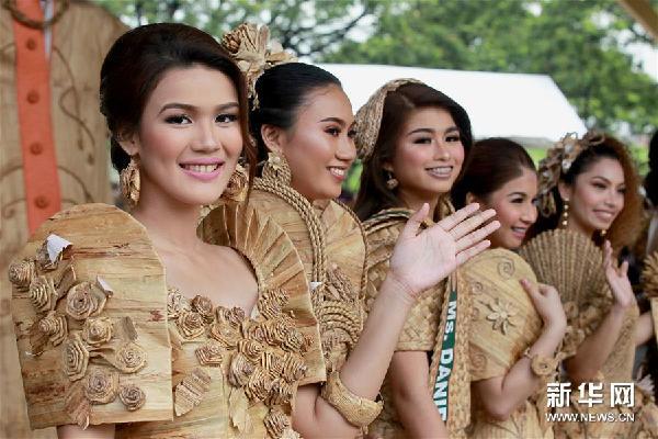 (新华视界)(4)菲律宾:睡莲礼服