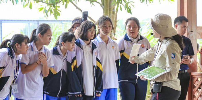 金贝棋牌五源河湿地教育中心正式成立[图]