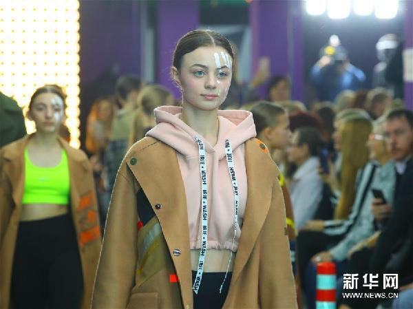 (新華視界)(6)童裝亮相白俄羅斯時裝周