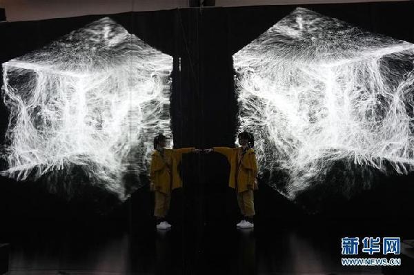 (文化)(1)第五届艺术与科学国际作品展在京举行