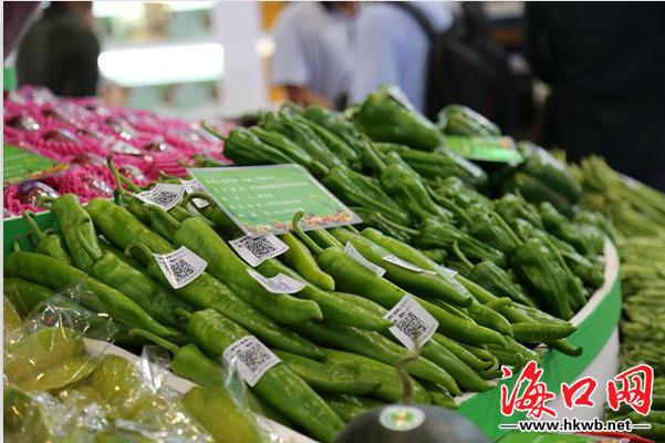 海口携50余种绿色农产品亮相冬交会 展示产业魅力