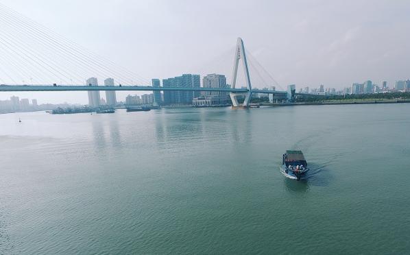 漫步海口世纪大桥