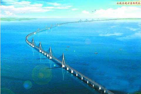 海南:加快推进琼州海峡跨海工程项目建设(图)图片
